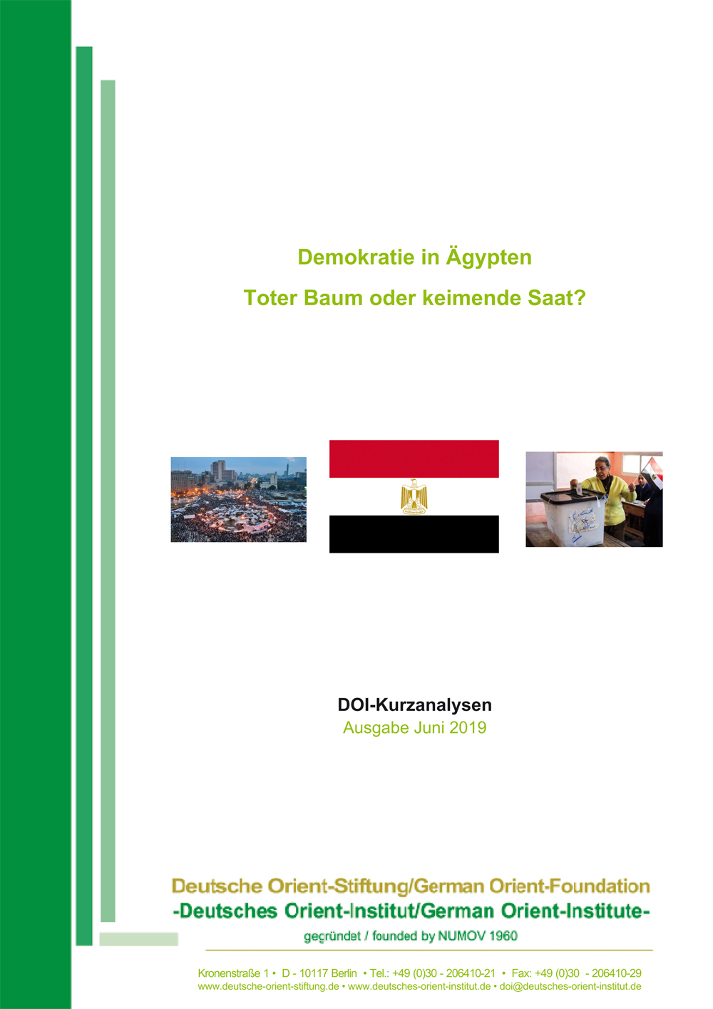 """Featured image for """"Demokratie in Ägypten: Toter Baum oder keimende Saat?"""""""