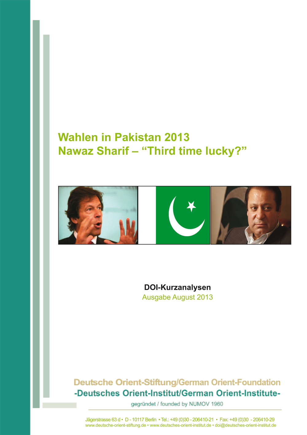 """Featured image for """"Wahlen in Pakistan 2013: Nawaz Sharif – """"Third time lucky?"""""""""""