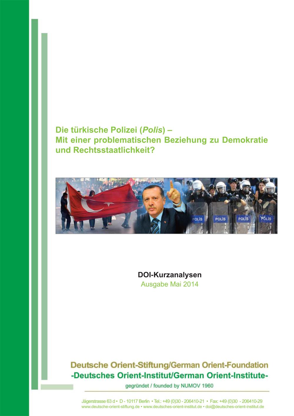 """Featured image for """"Die türkische Polizei (Polis): Mit einer problematischen Beziehung zu Demokratie und Rechtsstaatlichkeit?"""""""