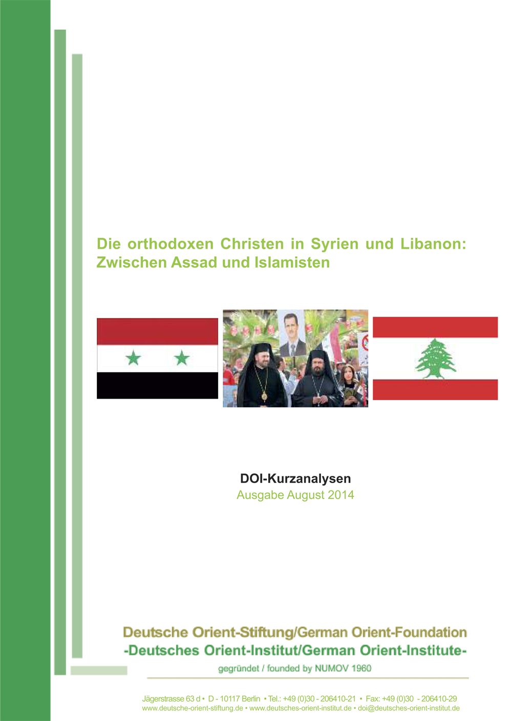 """Featured image for """"Die orthodoxen Christen in Syrien und Libanon: Zwischen Assad und Islamisten"""""""
