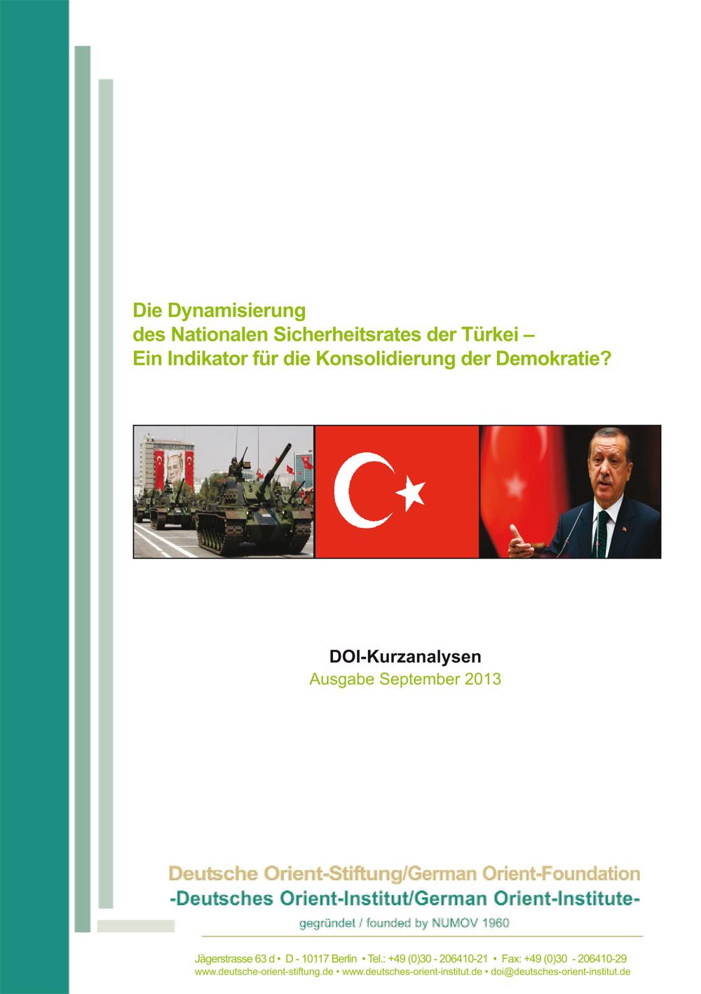 """Featured image for """"Die Dynamisierung des Nationalen Sicherheitsrates der Türkei: Ein Indikator für die Konsolidierung der Demokratie?"""""""