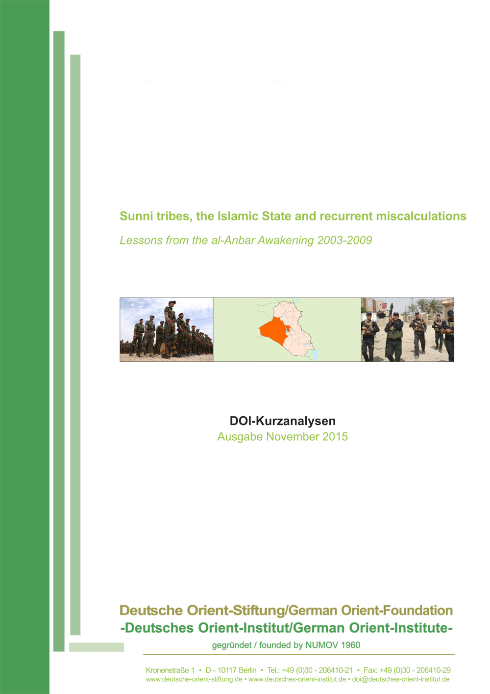 """Featured image for """"Sunni tribes, the Islamic State and recurrent miscalculations: Lessons from the al-Anbar Awakening 2003-2009"""""""
